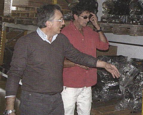 Stefano Gallo (SAITO) ed Ettore Sodo (MOTORLINE)