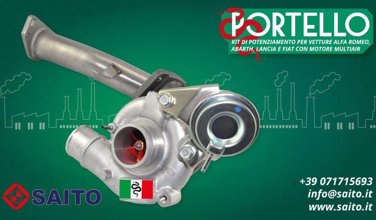 Kit Turbo TD04 / TD04L SFM230 suitable for Alfa Romeo, Lancia, Fiat