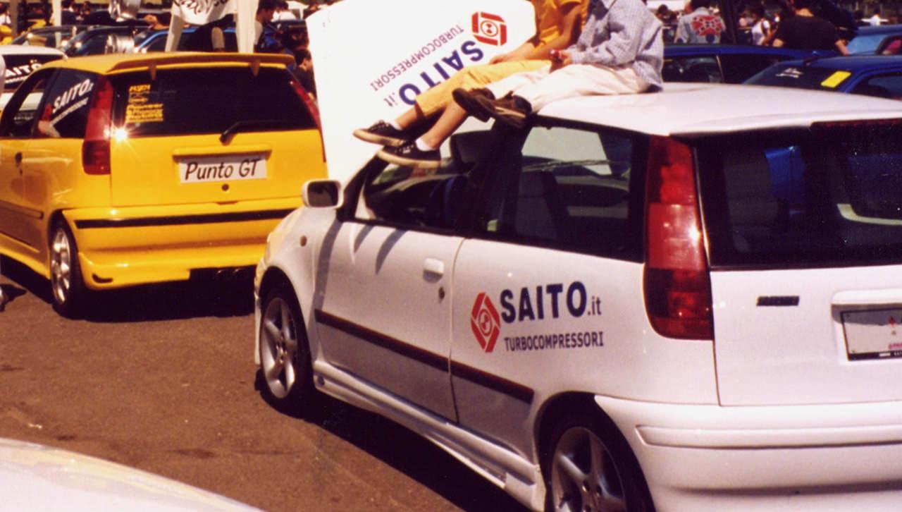 Kit SP190 per Fiat Punto GT 1.4 | SAITO