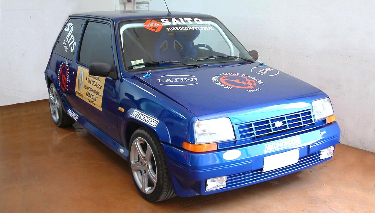 Kit SR175 per Renault 5 GT Turbo   SAITO