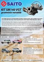Kit elaborazione 4x4 SM140 VGT | SAITO