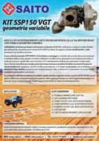kit elaborazione 4x4 ssp150vgt | SAITO