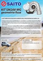 kit elaborazione 4x4 sm200wg | SAITO