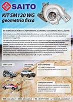 kit elaborazione 4x4 SM120WG | SAITO