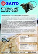 kit elaborazione 4x4 SM150VGT | SAITO