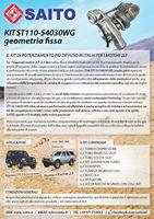 kit elaborazione 4x4 ST110 54030WG | SAITO