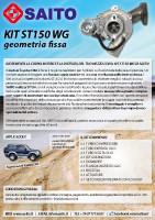 kit elaborazione 4x4 ST150 WG | SAITO