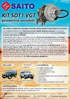 kit elaborazione 4x4 SDT1 VGT | SAITO