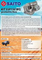 kit elaborazione 4x4 SM150WG | SAITO