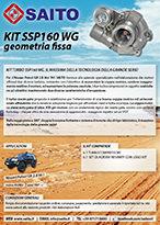 kit elaborazione 4x4 SSP160WG | SAITO