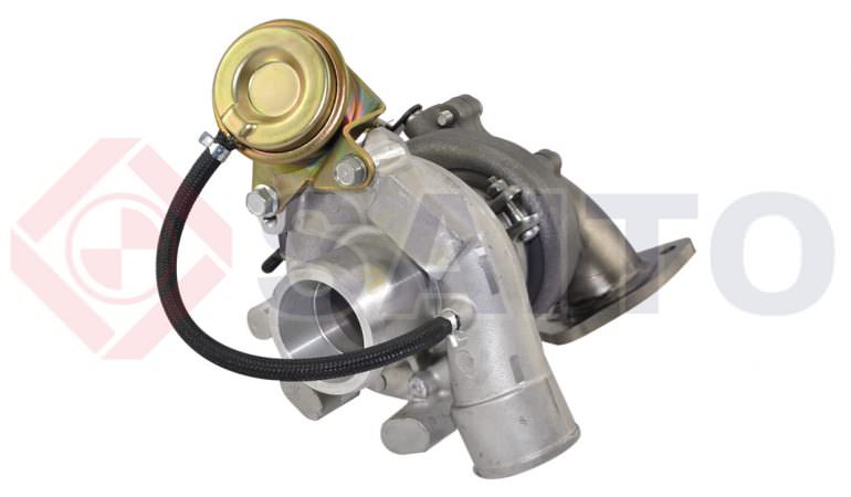 A high-tech turbo kit for Land Rover Defender / Discovery