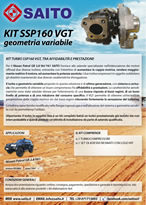 kit elaborazione 4x4 SSP160VGT | SAITO