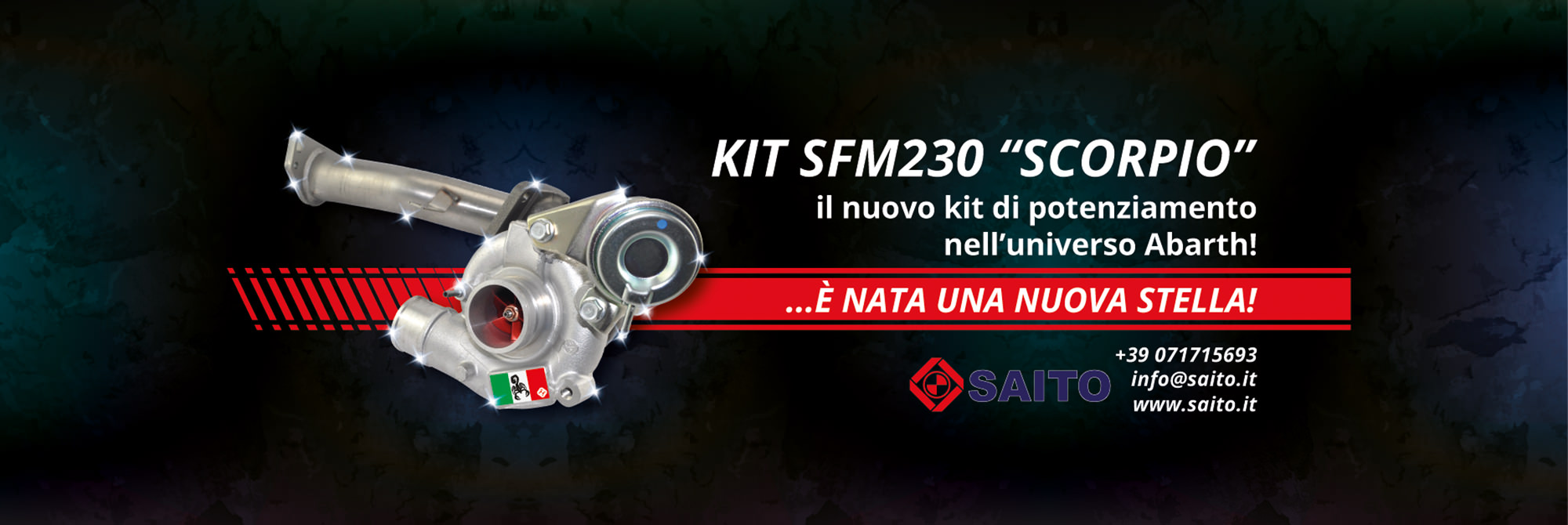 Slide SFM230 Kit Abarth | SAITO