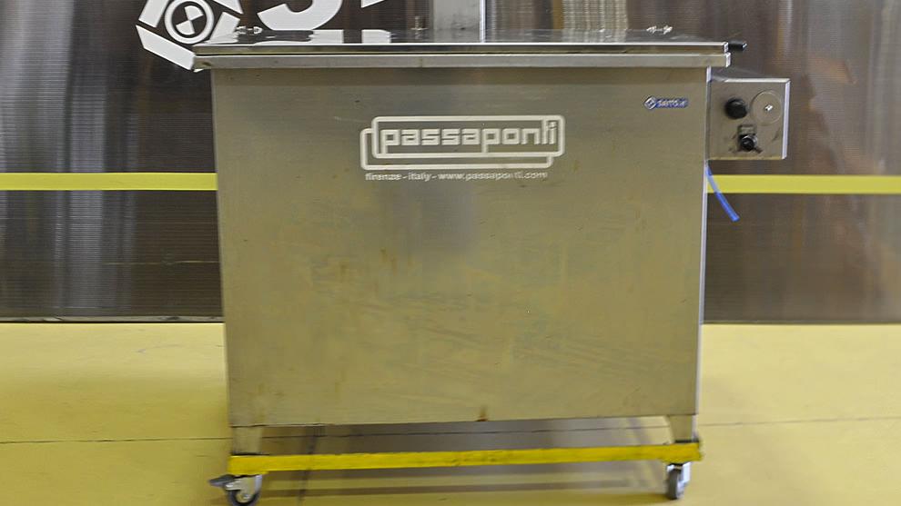 Lavapezzi Passaponti AGI-DIP 400L | SAITO