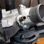 Turbo per motore marino Weber - saldatura, chiusura fori e rifilettatura | SAITO