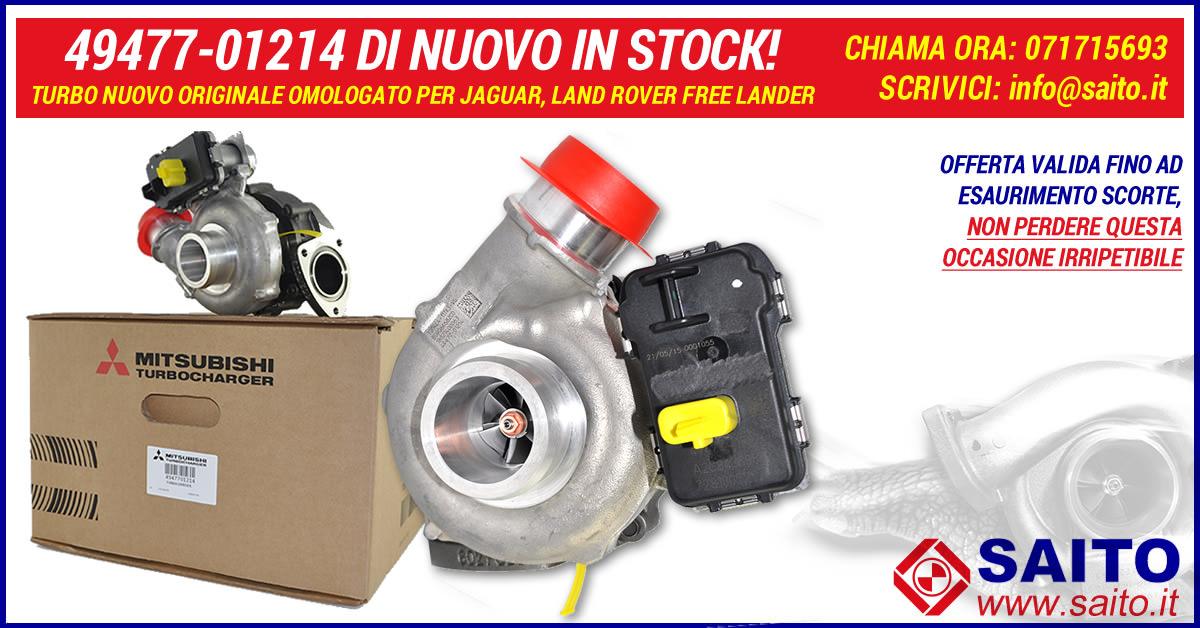 49477-01214 di nuovo in stock!