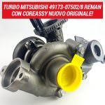Turbo Mitsubishi 49173-07502/8 Reman con Coreassy nuovo originale 500x500 | SAITO