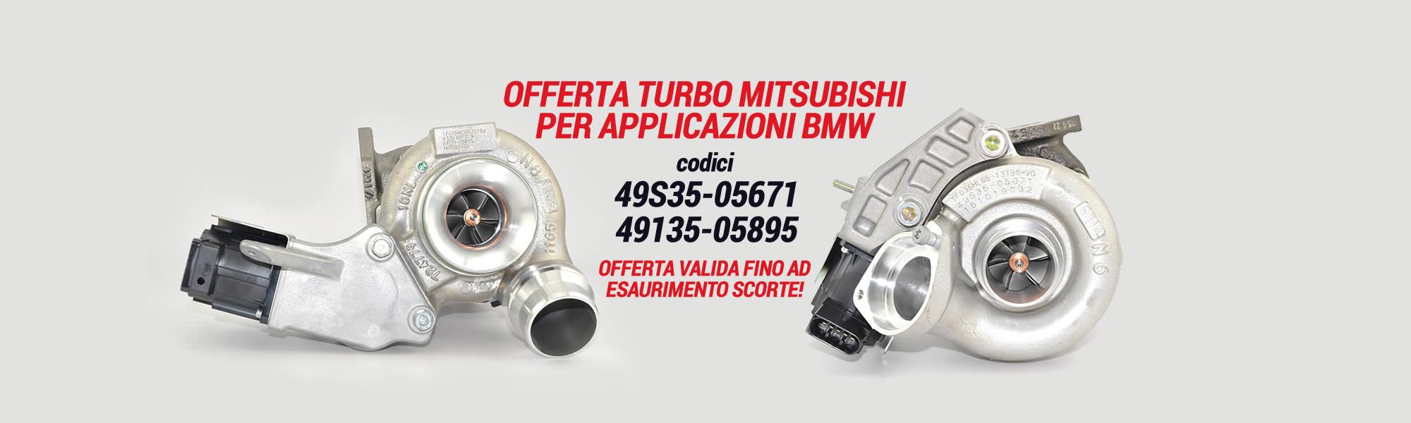 Offerta Turbo Mitsubishi per applicazioni BMW | SAITO