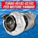 Offerta turbo Mitsubishi 49182-02102 | SAITO