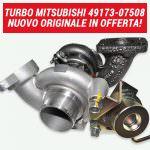 Turbo Mitsubishi 49173-07502/8 nuovo originale Mitsubishi | SAITO