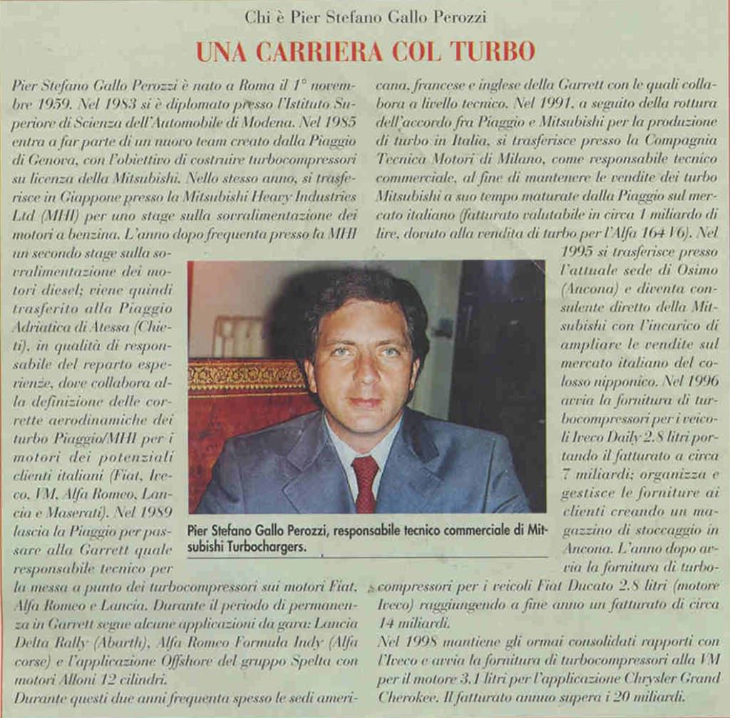 """Una Carriera col Turbo"" 
