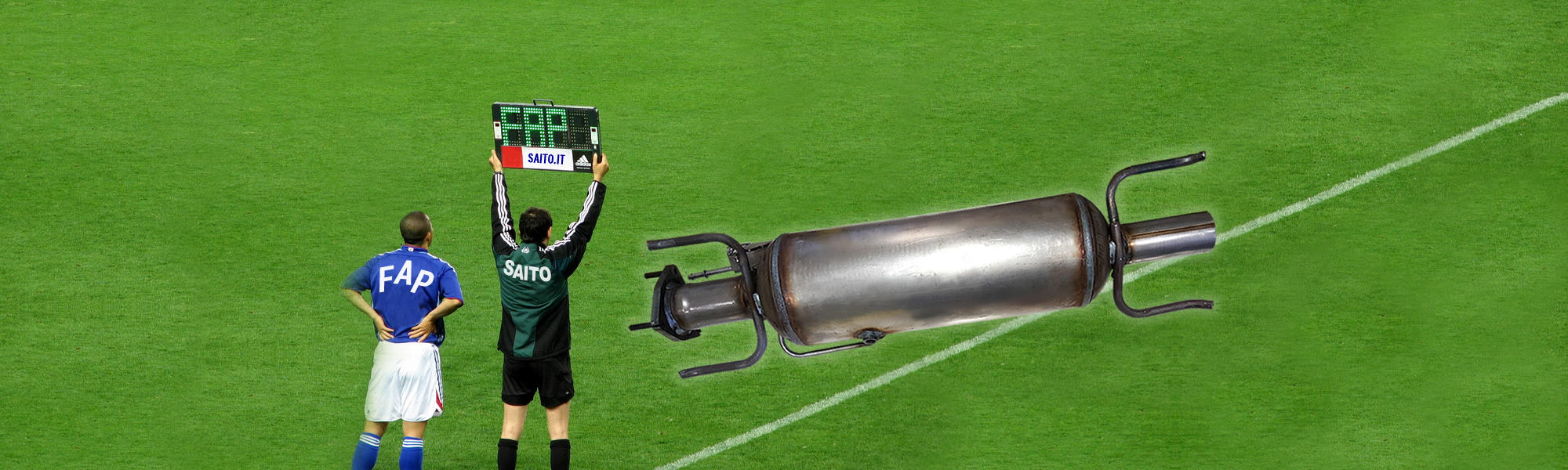 Cambia il FAP o il CATALIZZATORE per giocare in difesa del tuo turbo! | SAITO