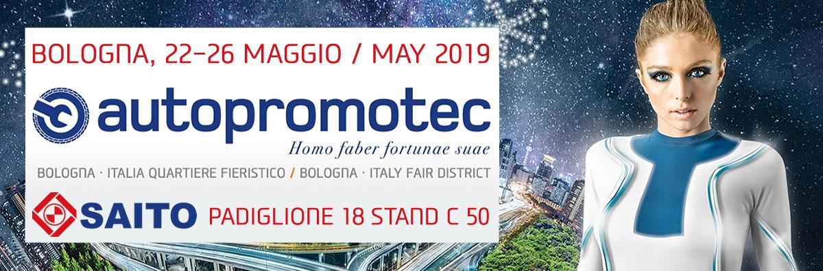 Partecipazione SAITO ad AUTOPROMOTEC 2019