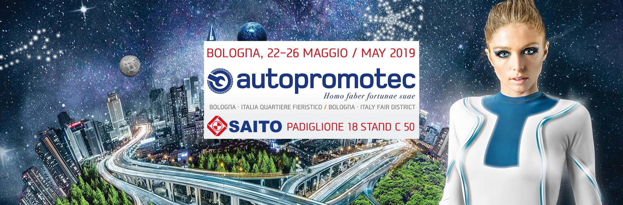 Partecipazione ad Autopromotec 2019 | SAITO