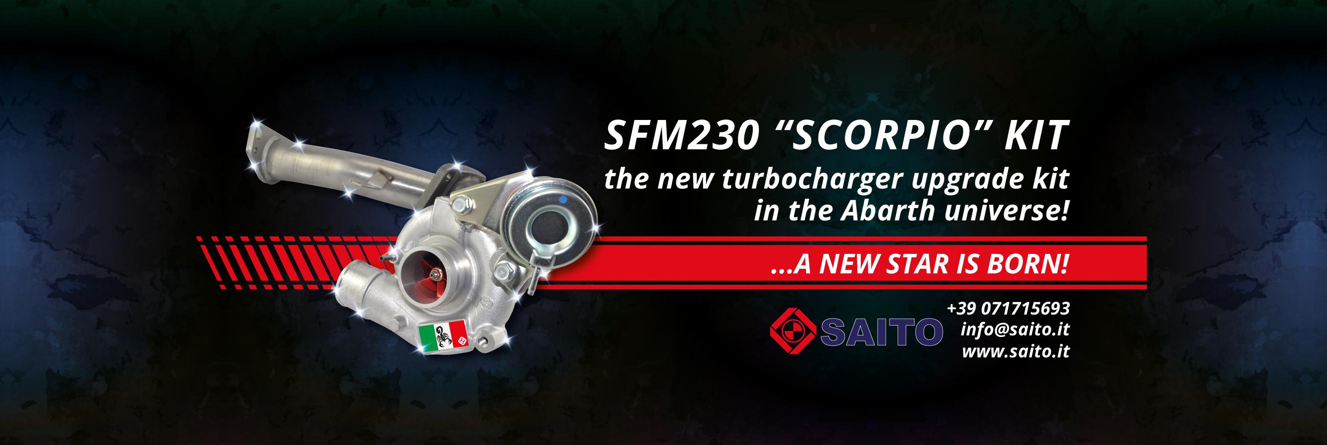 Slide SFM230 Kit Abarth | SAITO