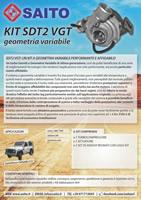 kit elaborazione 4x4 SDT2VGT   SAITO