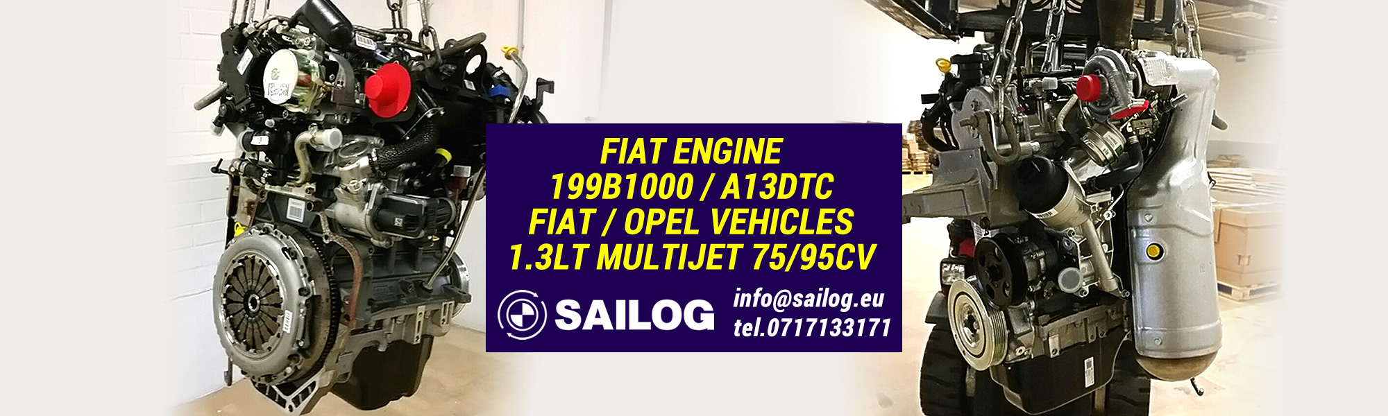 Fiat Engine 199B1000 / A13DTC | SAITO