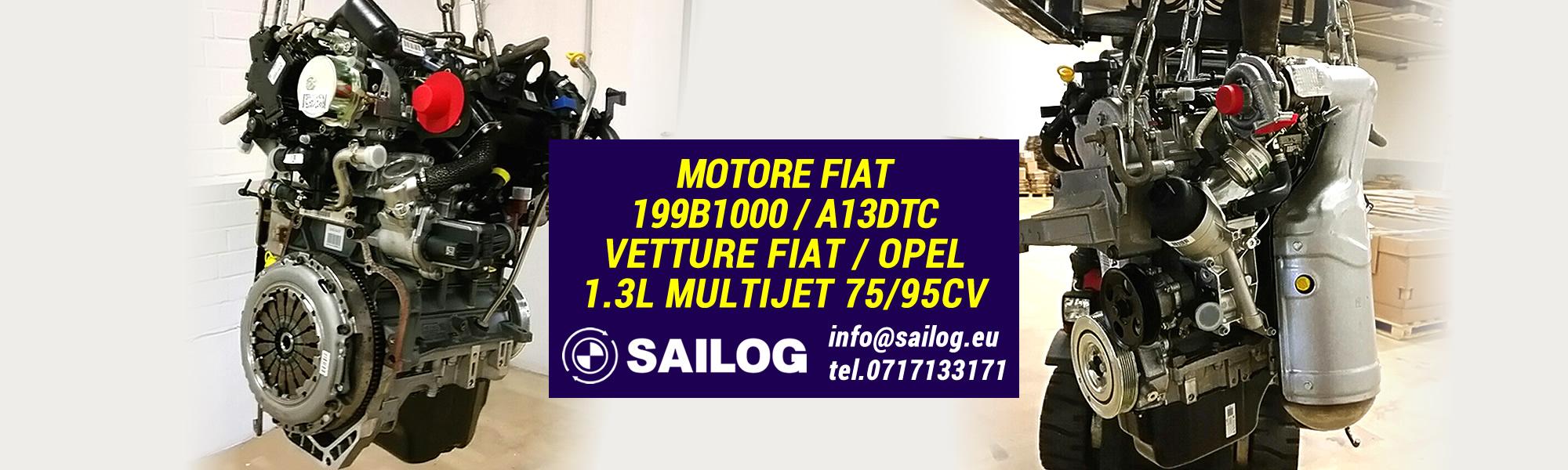 Occasione Motore Fiat 199B1000 / A13DTC | SAITO