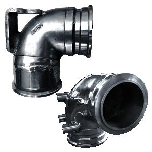 Exhaust Riser Yanmar 119175-13200 | SAITO