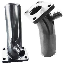 Exhaust Riser Yanmar 3 cylinders 128370-13530_128890-13530_128397-13530 | SAITO | SAITO