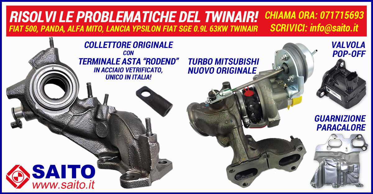 Collettore originale per turbo Mitsubishi 49373-03012 in offerta