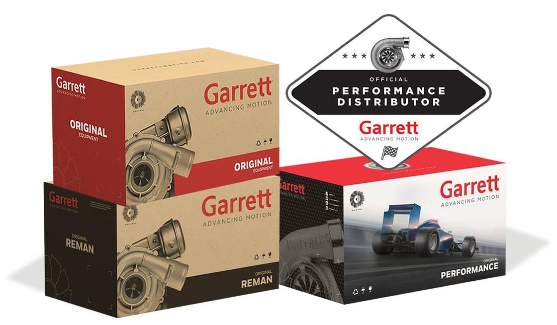 Turbo Garrett Motion gamma completa | SAITO