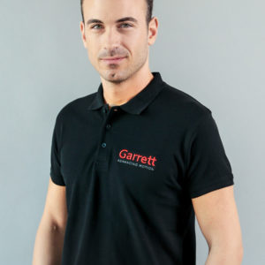 Garrett Gear - Polo Shirt Black Uomo | SAITO