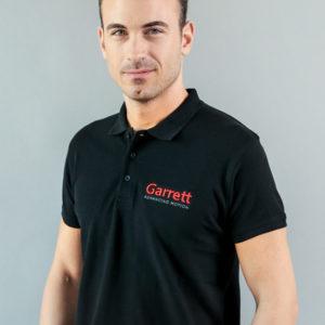 "Garrett Gear - Polo Shirt ""Garrett Advancing Motion"" | SAITO"