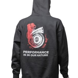 "Garrett Gear - Felpa ""Performance is in our Nature"" 