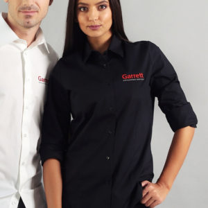 Garrett Gear - Long Sleeve Shirt Black Donna | SAITO