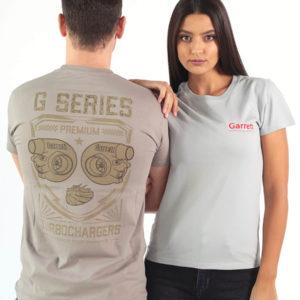 "Garrett Gear - T-Shirt ""Performance"" Grey | SAITO"
