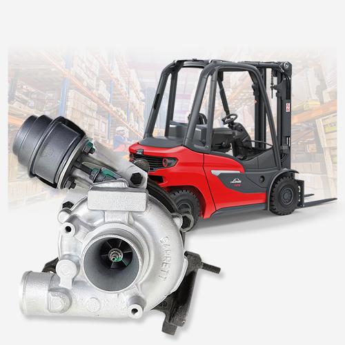 Turbo nuovo originale Garrett 700960-5012S per Carrelli Elevatori Linde | SAITO