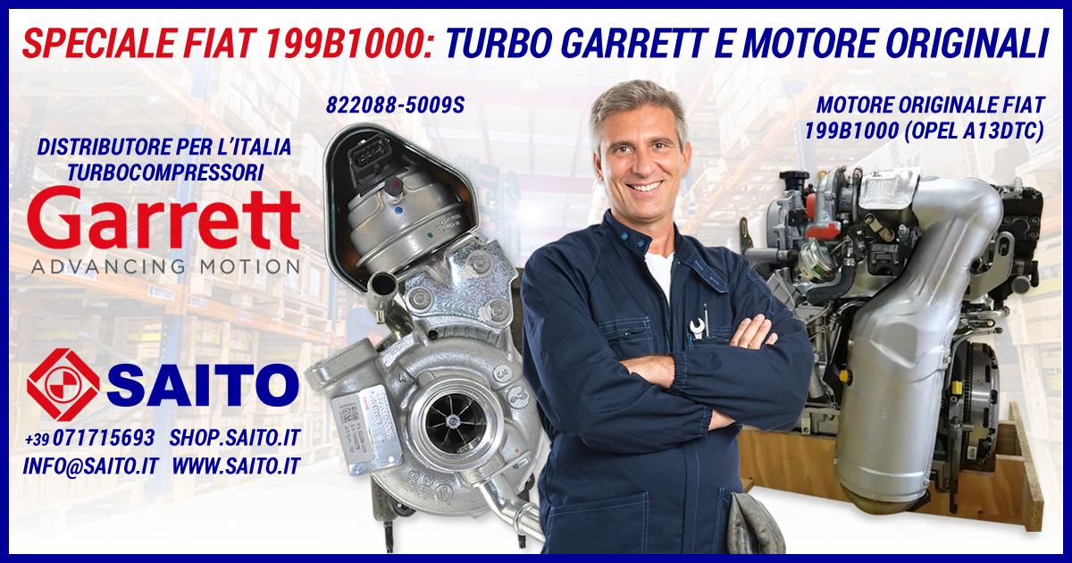 Speciale Fiat 199B1000 – Turbo Garrett e Motore Originali | SAITO